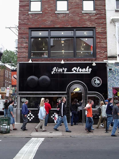 Jim's Steaks Storefront
