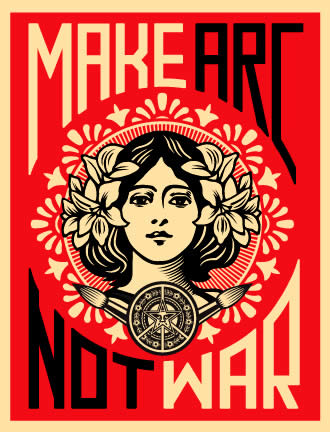 OBEY Peace | Make Arch, Not War
