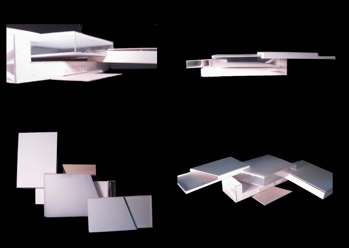 Boathouse concept model blogs archinect for Notion architecture