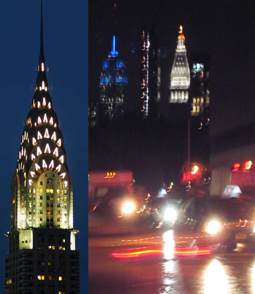 Chrysler Building And Empire State Building