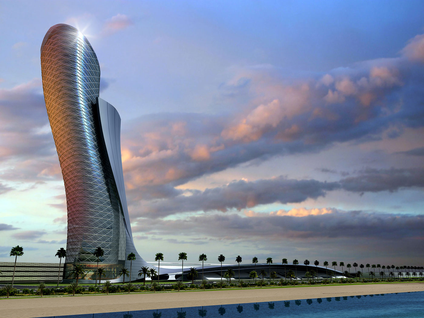 The Leaning Tower Of Abu Dhabi News Archinect