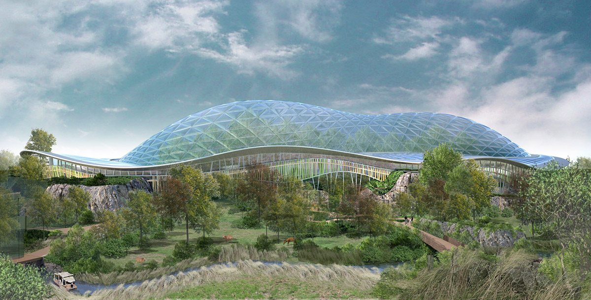 Showcase Heart Of Africa Biodome At Chester Zoo