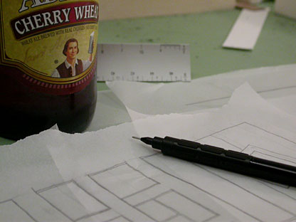 drinking and drafting