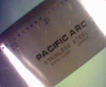 pacific arc straight edge