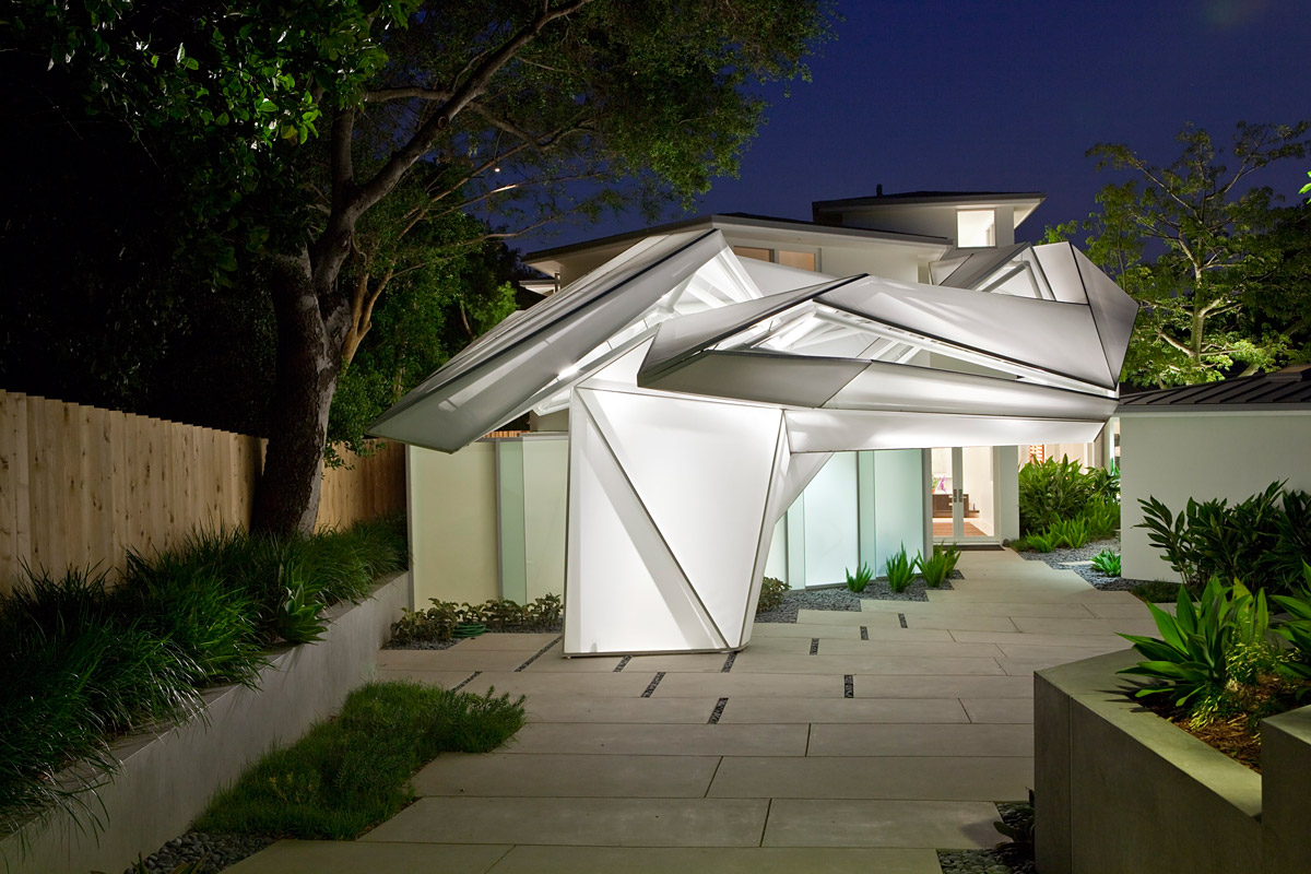 Showcase vectorfields pt 1 frank kim residence features archinect - Modern contemporary home interiors ...