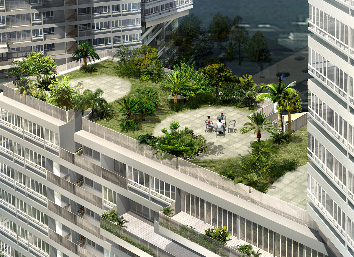 Showcase The Interlace By Oma Features Archinect