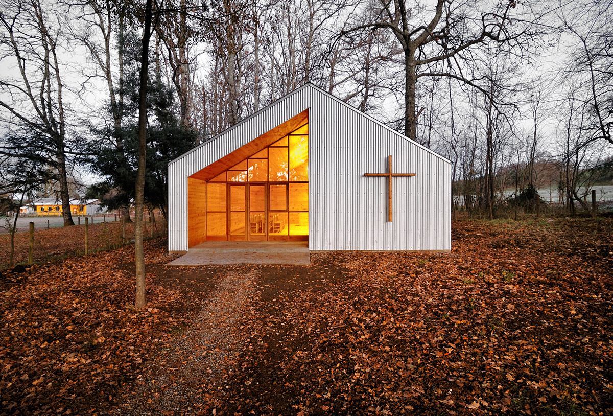 Showcase Junquillos Chapel Features Archinect
