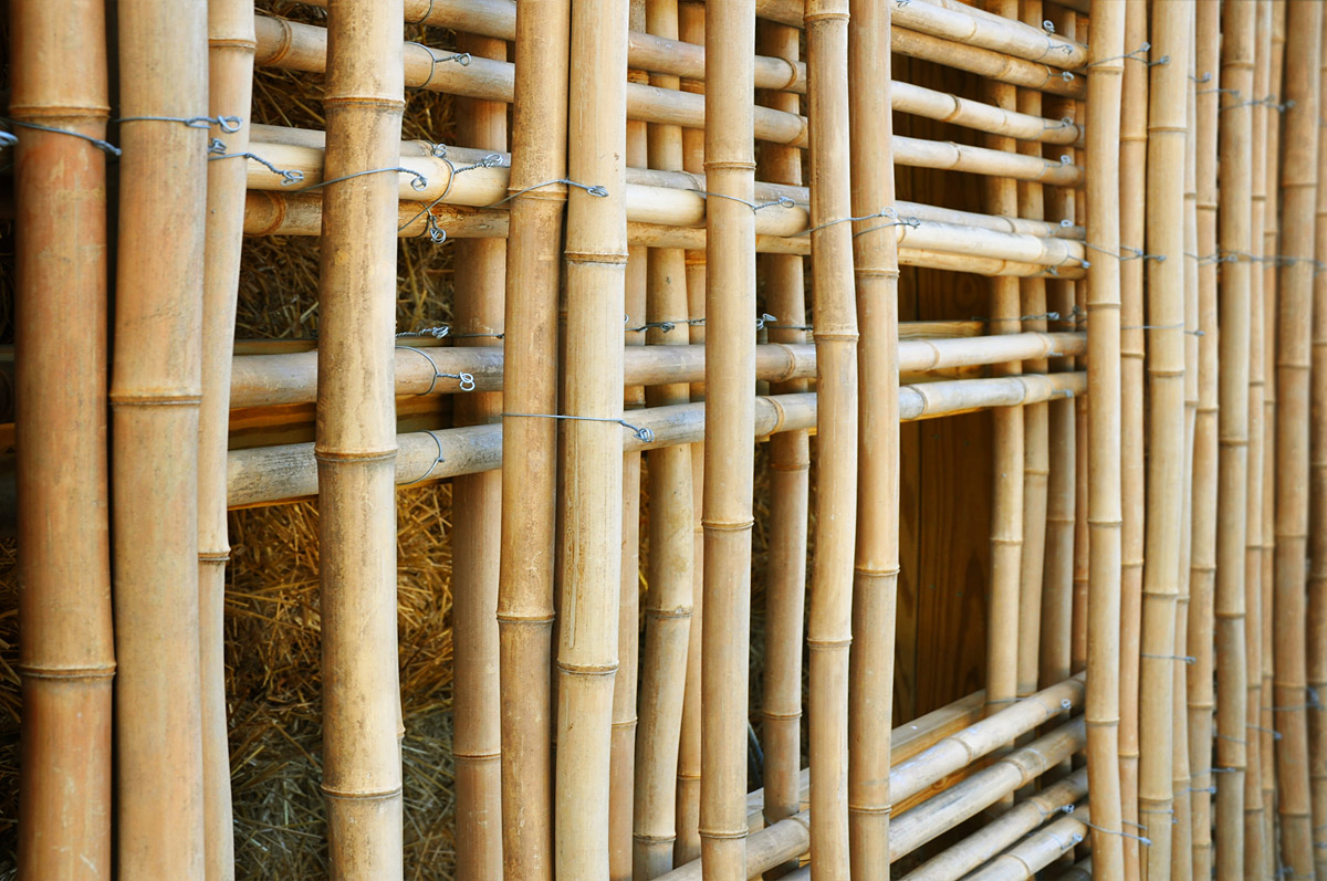 Showcase mason lane farm operations facility features for Bamboo roofing materials