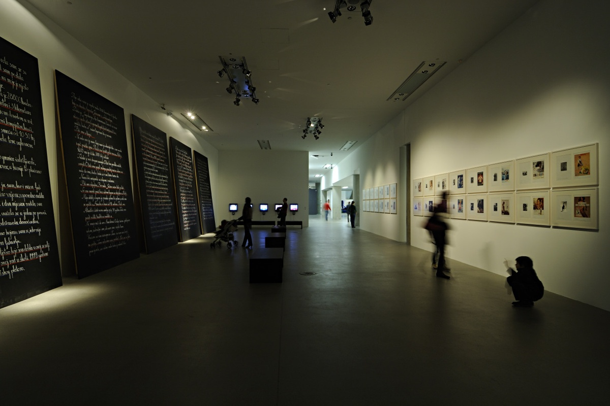 Showcase zagreb museum of contemporary art features for Interior design zagreb