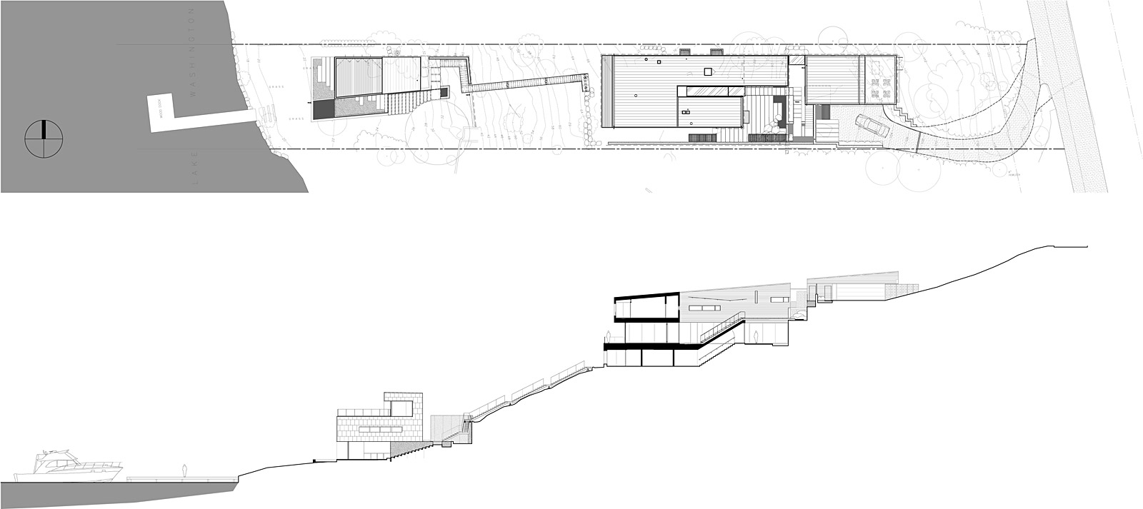 house on a slope plans house design plans